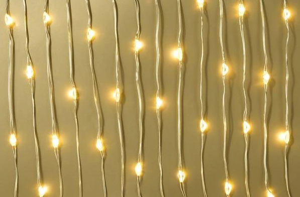 Gold Wire LED Lights