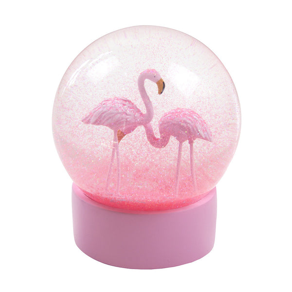 Flamingo Snow Globe ,  - Olive and Sage, Olive and Sage