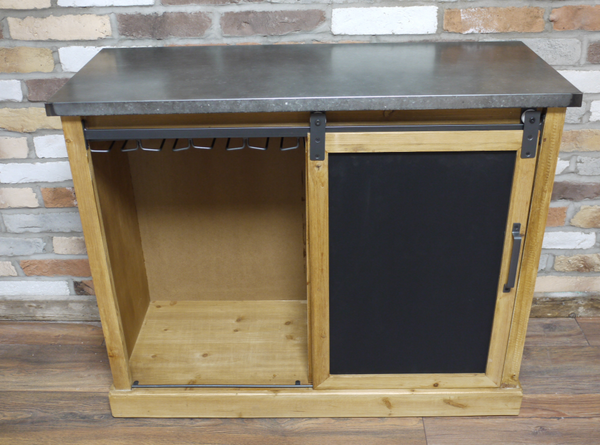 Industrial Wine Cabinet