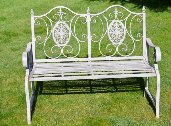 Fancy Garden Bench