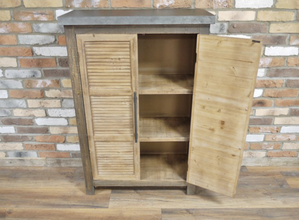 Louvred Cabinet
