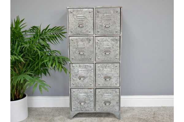 Large Industrial 8 Drawer Unit