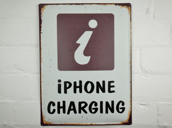 iPhone Charging Plaque