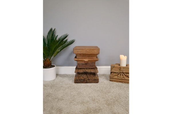 Indian Reclaimed Stool