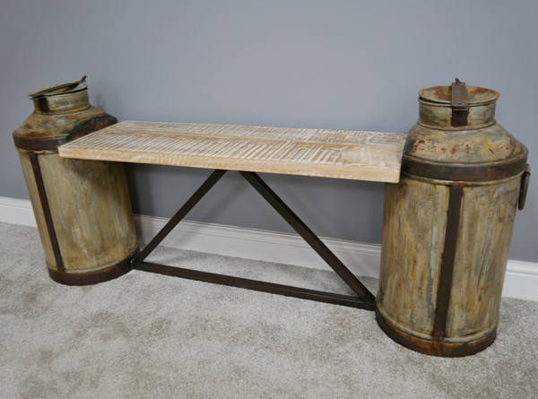 Milk Churn Bench