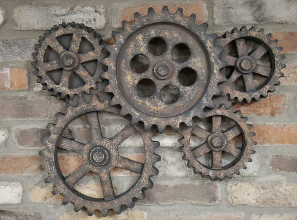 Cogs Wall Decor