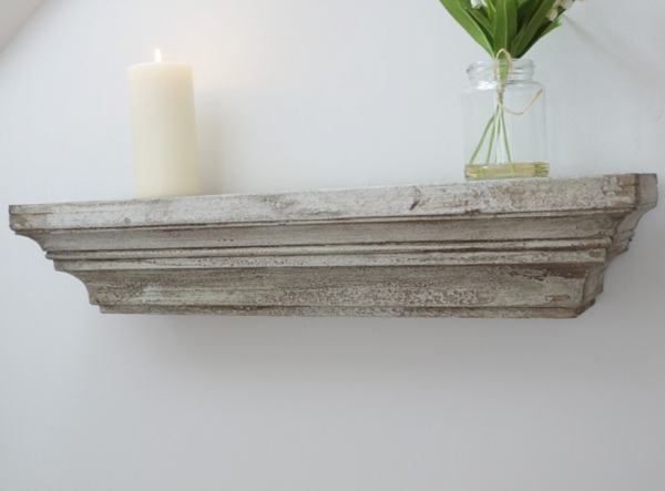Rustic Distressed Shelf