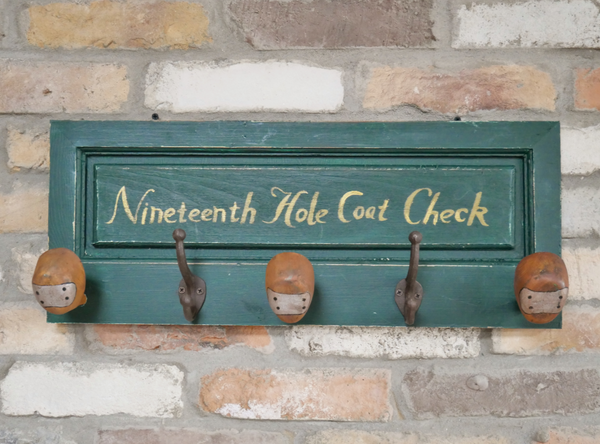 Golf Club Coat Hook