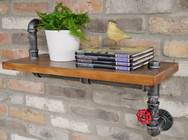 Chunky Pipe Shelf