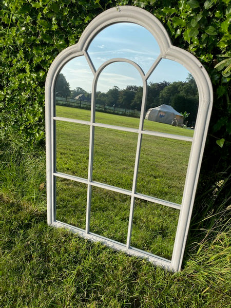 Roman Outdoor Mirror