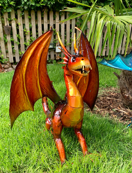 Drogon the Orange Dragon!
