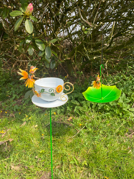 Fairy Sunflower Feeders