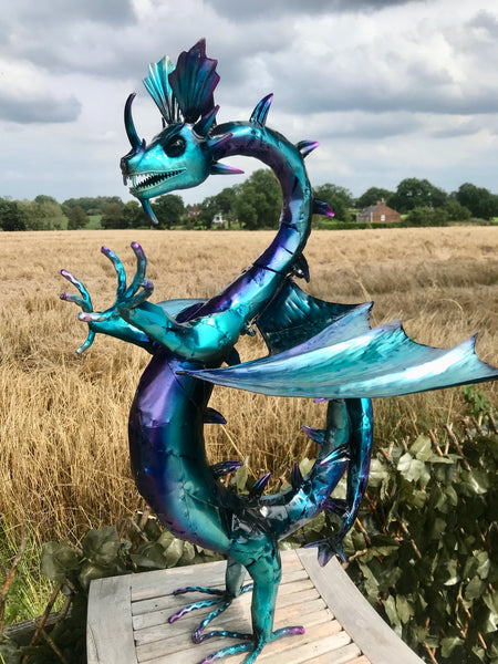 Viserion the Blue Dragon!