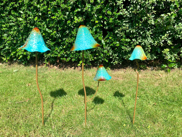 Set of 3 Toadstools