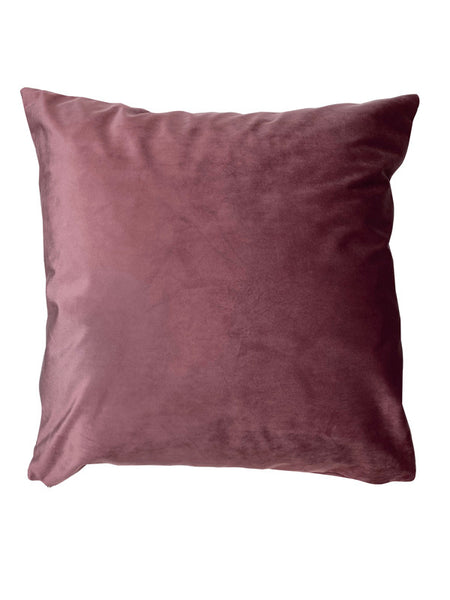 Velvet Rhubarb Cushion