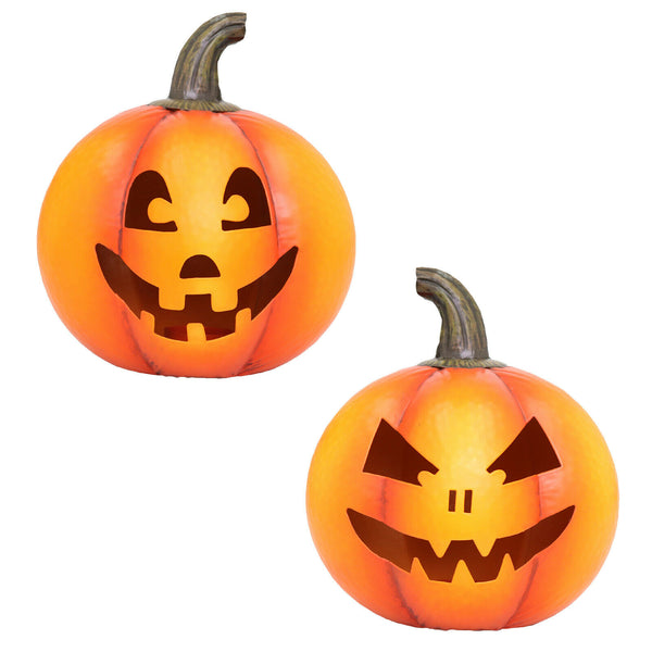 Goofy Pumpkin T Light Holder