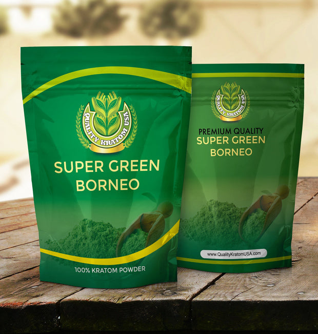 Super Green Borneo Kratom Powder