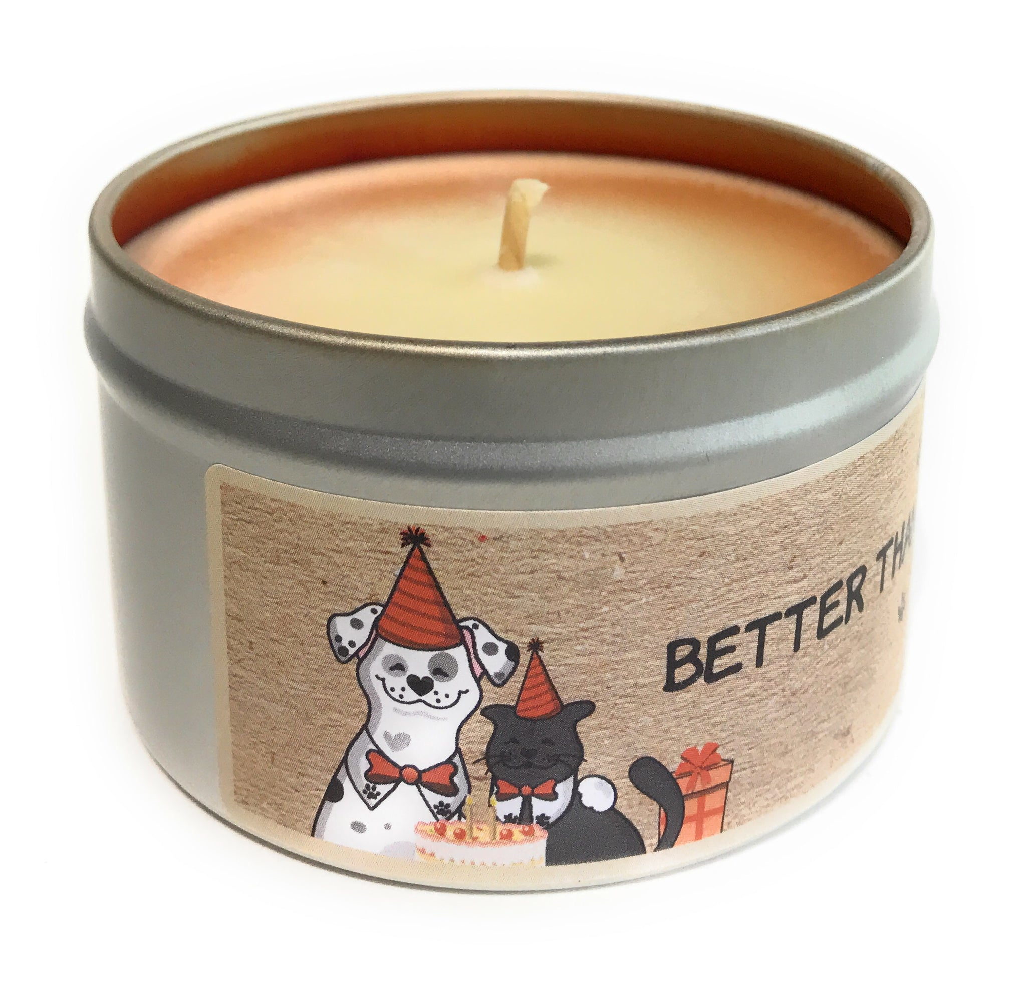 Better Than Bones 100% Soy Wax Triple Scented Candle
