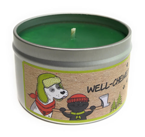 Well Chewed Stick 100% Soy Wax Triple Scented Candle