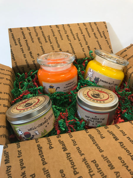 Candle Bundle Gift Box 4 pc