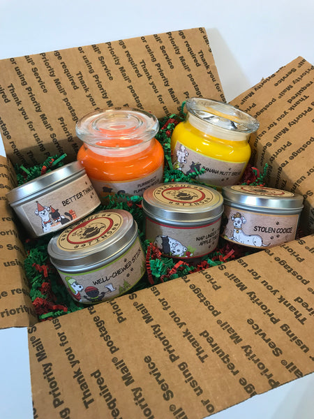 Candle Bundle Gift Box 6 pc