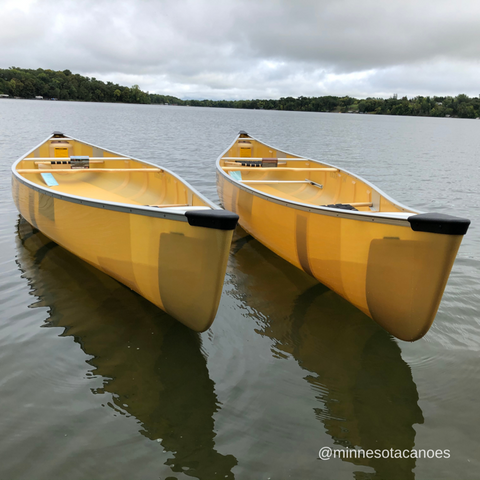 Wenonah Kingfisher and Boundary Waters canoe models