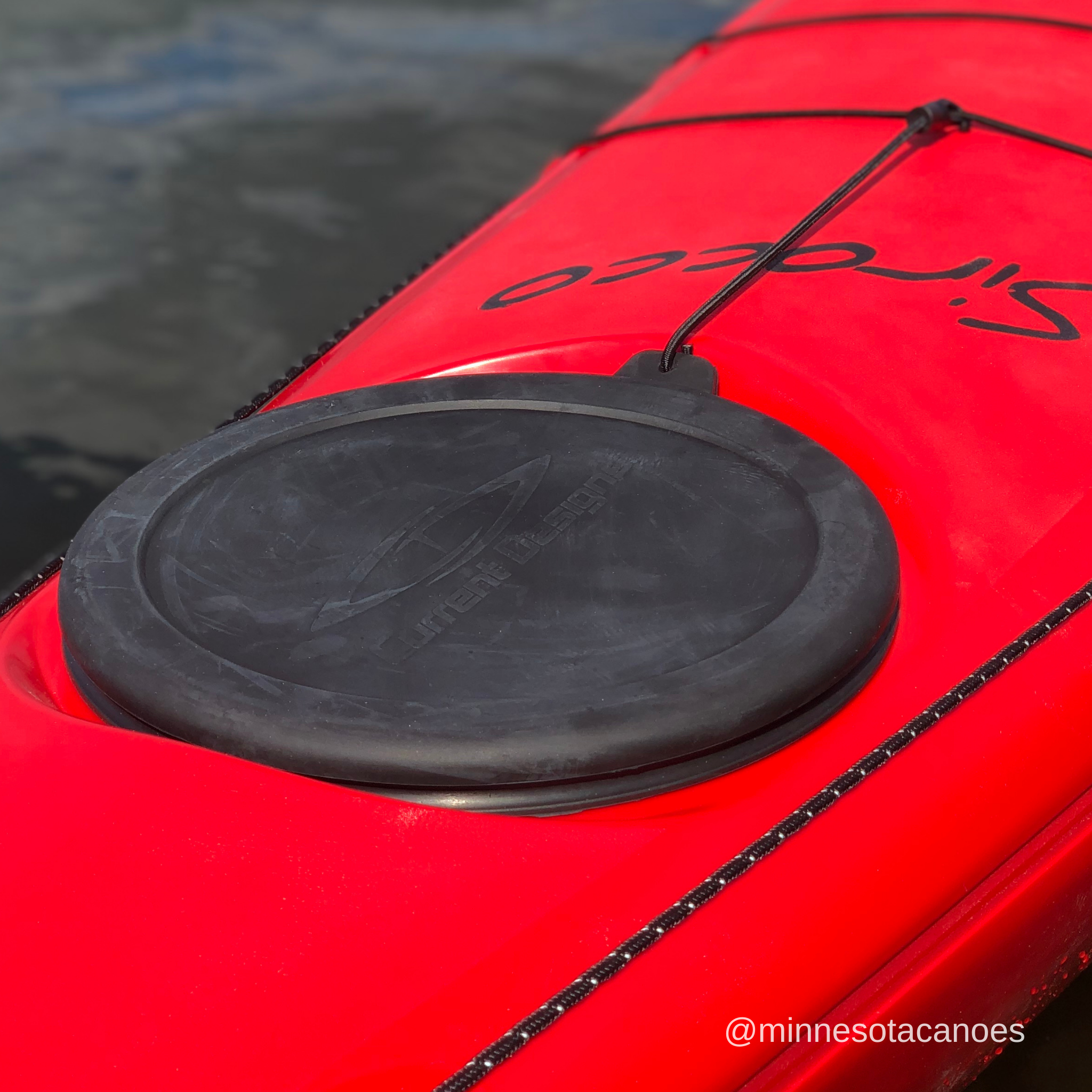 "Sirocco 16' 10"" Red Color Current Designs Kayak"
