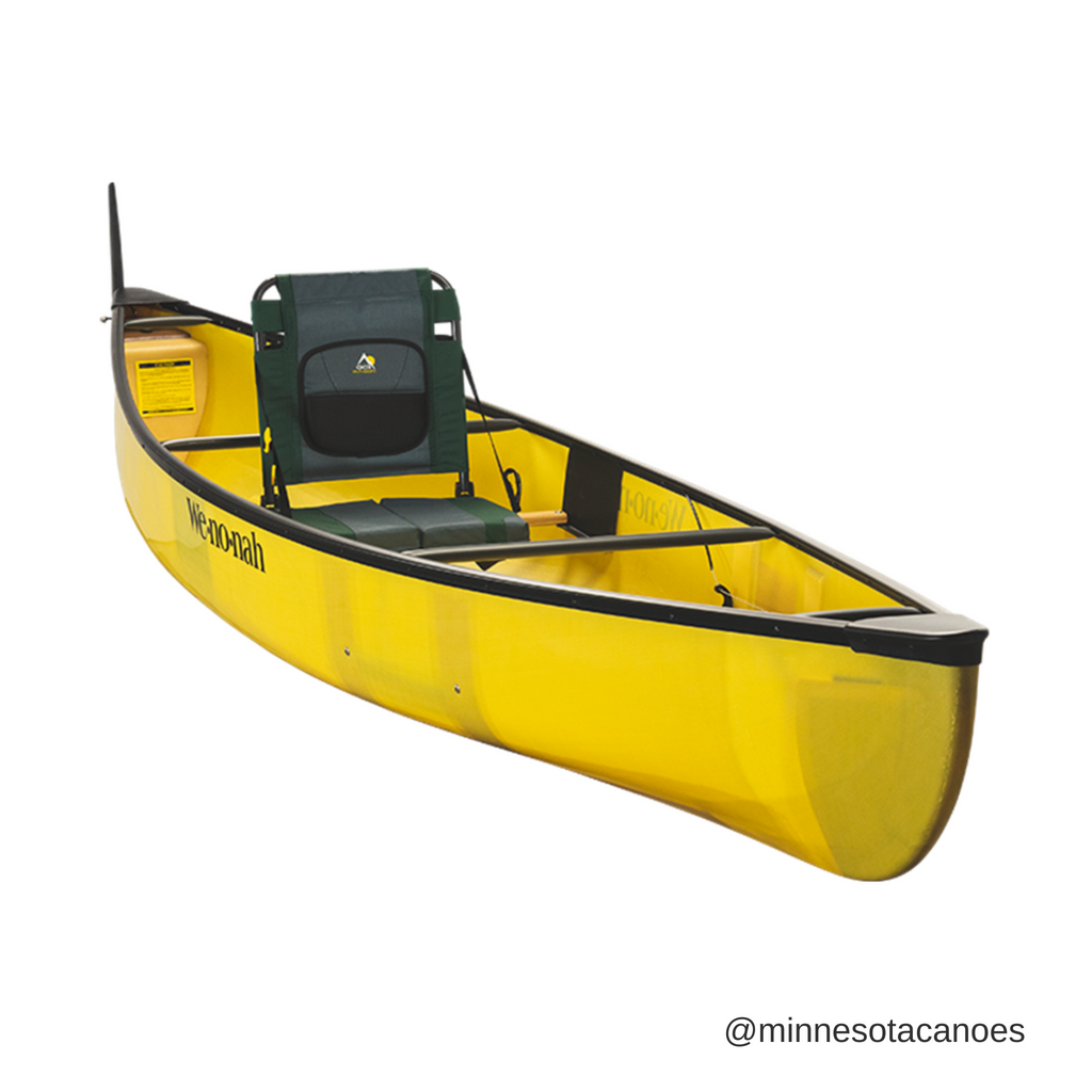 "Fusion 13' 0"" Aramid Ultra-light w/Black Trim Solo Wenonah Canoe"