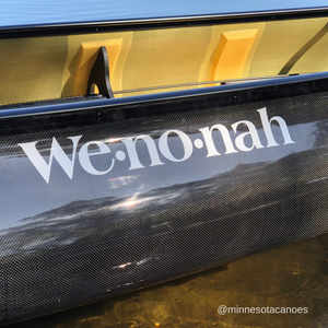 "Voyager KR Edition 17' 6"" Graphite Ultra-light Solo Wenonah Canoe"