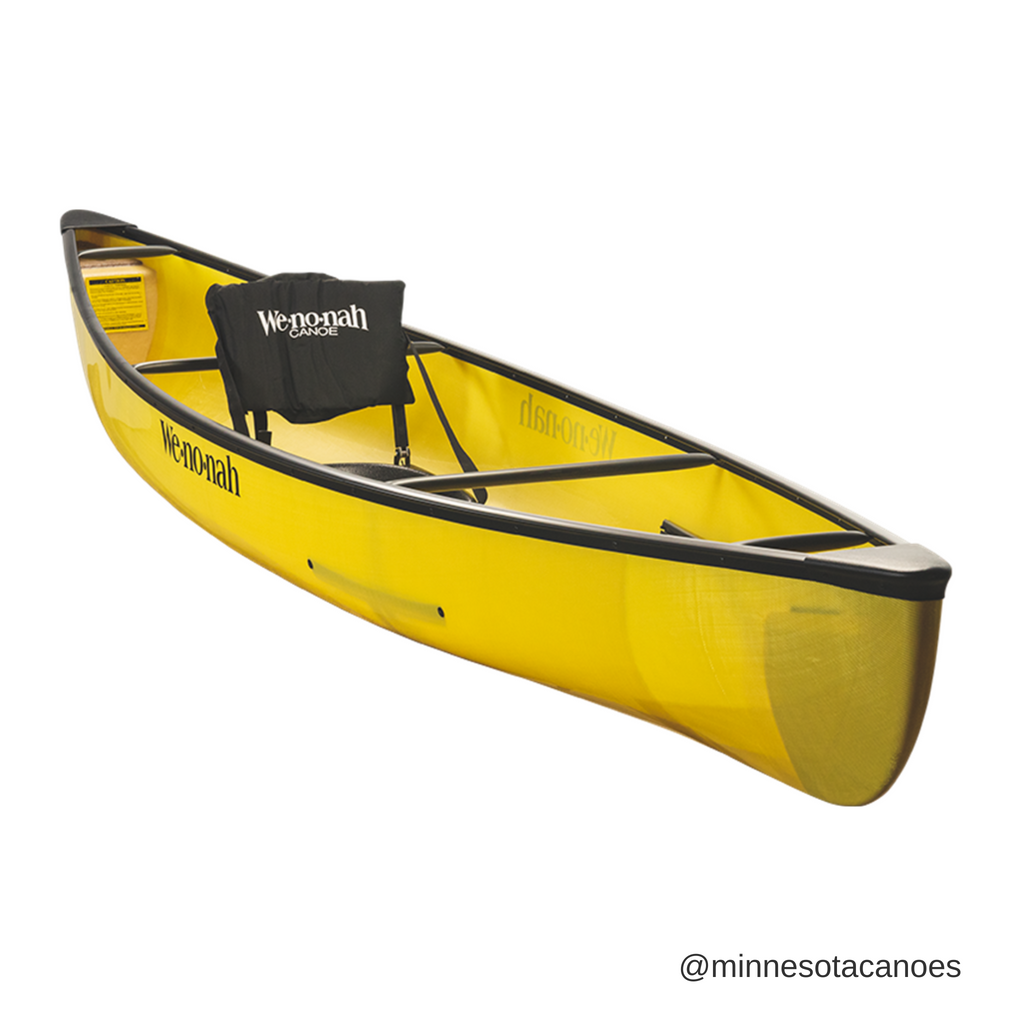 "Wee Lassie 12' 6"" Aramid Ultra-light Solo Wenonah Canoe"