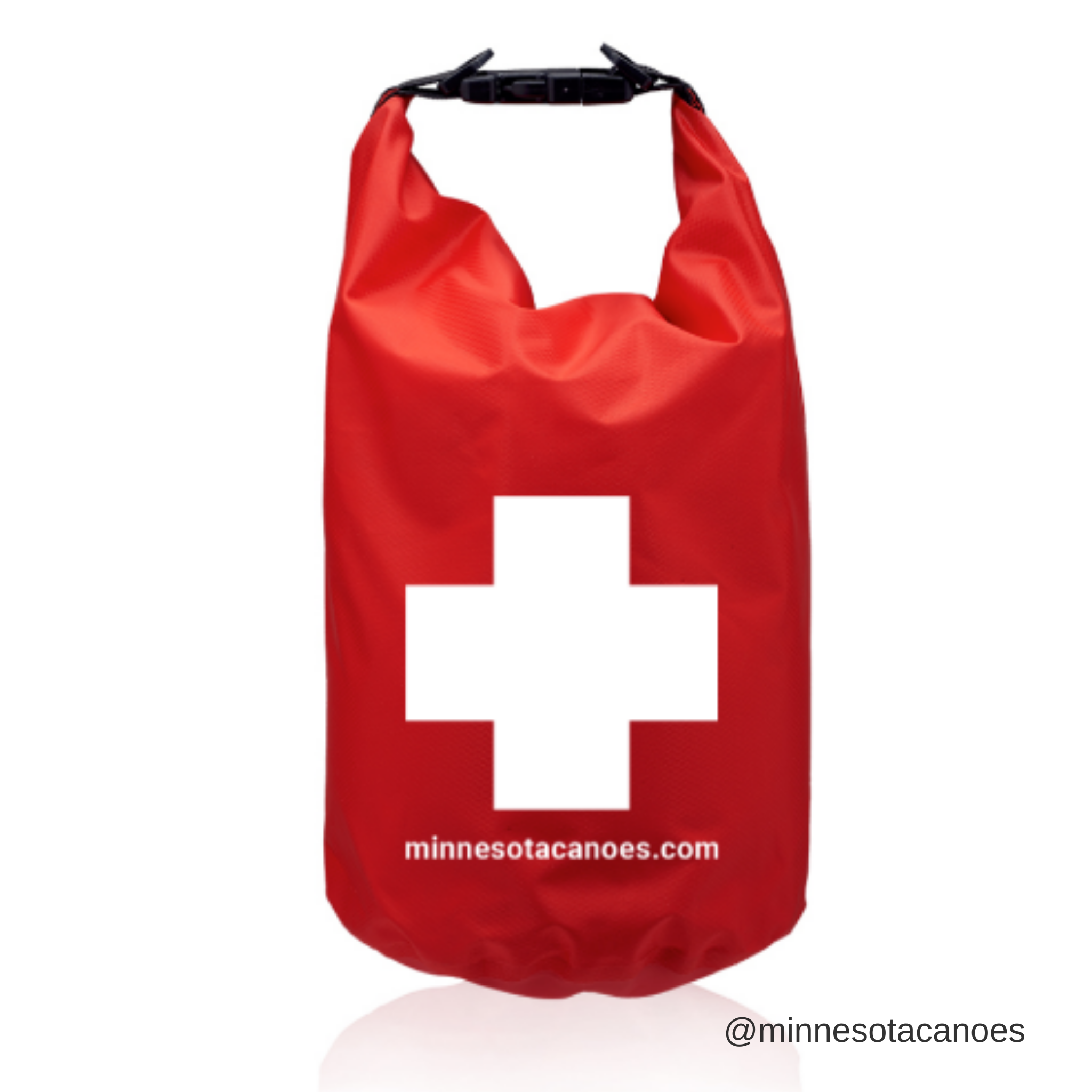 Waterproof 5L Dry Bag with First Aid Symbol