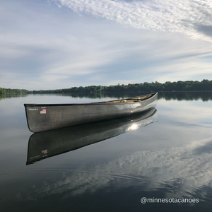 "Minnesota II 18' 6"" Innegra/Black Aramid Ultra-light Tandem Wenonah Canoe"