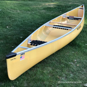 "Solo Plus 16' 6"" Aramid Ultra-light w/Silver Trim Solo Wenonah Canoe"