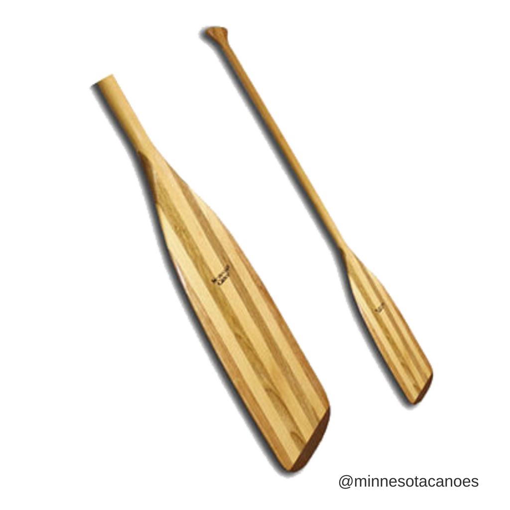 Wooden Straight Shaft Canoe Paddle