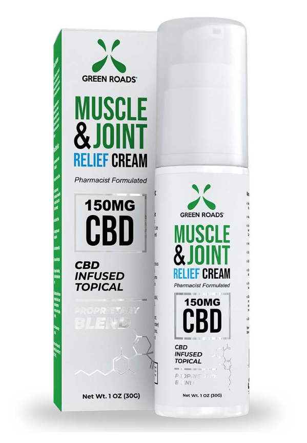 Greenroads CBD Pain Cream (150-300mg)
