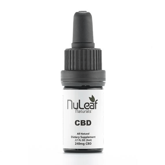 NuLeaf Full Spectrum CBD oil 240mg (5ml)