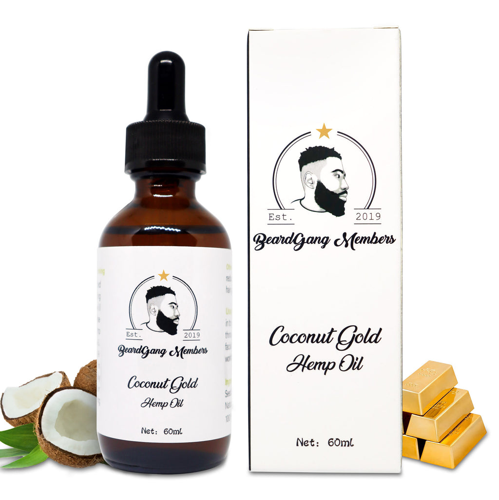 Coconut Gold Hemp Oil-BeardGang Members