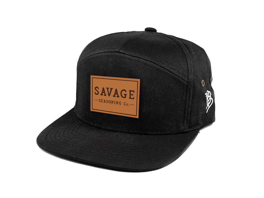 Load image into Gallery viewer, Branded Bills - Savage Logo Badge 7-Panel