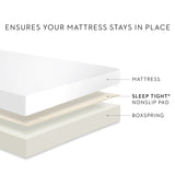 Sleep Tight Non-Slip Mattress Grip Pad Twin