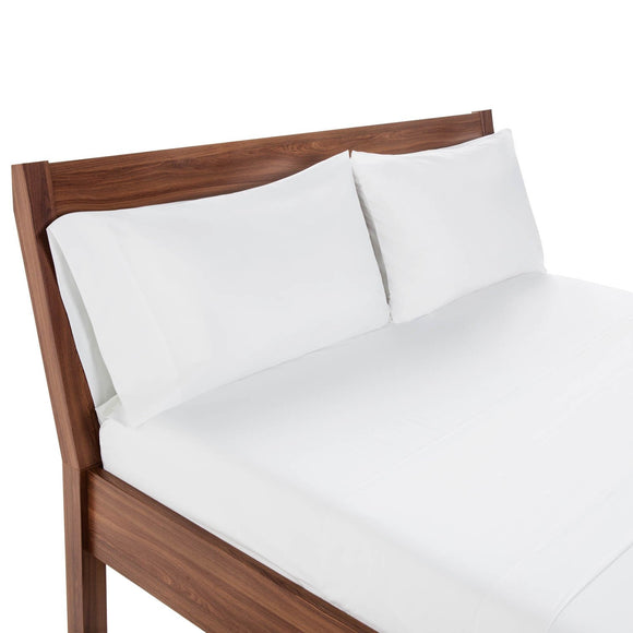 Weekender Hotel Fitted Sheet, Twin XL, White