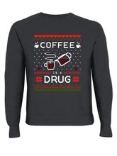 Load image into Gallery viewer, XMAS Coffee Is A Drug Black