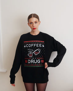 XMAS Coffee Is A Drug Black