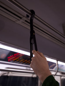 The Straphanger in Black