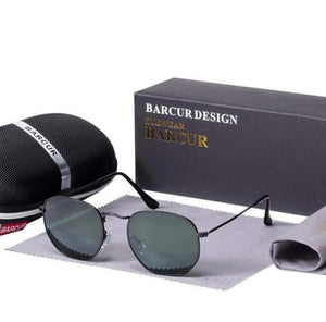 Assic.Myshop glasses Black Greenkish Anti reflection barcur Polarized u-v [sunglasses] 21411902-black-greenkish