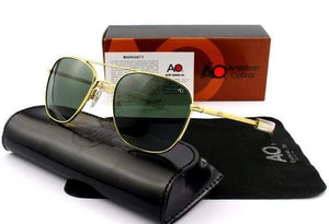 Assic.Myshop glasses C2gold-green Anti Reflective aviation Polarized u-v [sunglasses] 28377706-c2gold-green