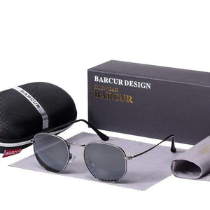 Assic.Myshop glasses Gun Gray Anti reflection barcur Polarized u-v [sunglasses] 21411902-gun-gray