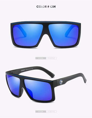 Reflective dubery Polarized u-v sunglasses-Blue