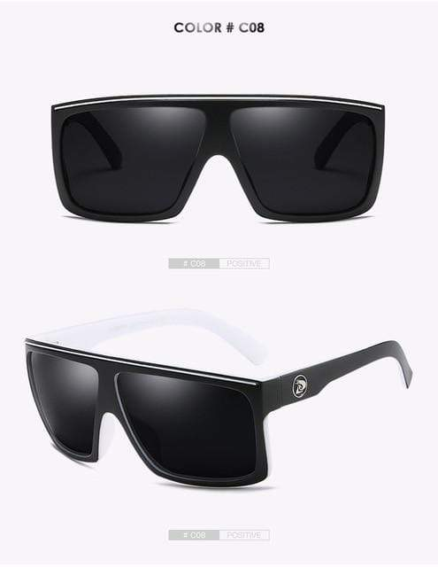 Reflective dubery Polarized u-v sunglasses-Black Lense