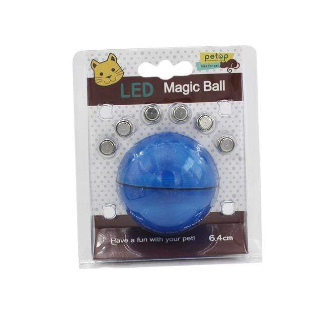 Yooap Creative Cat Toys Interactive Automatic rolling ball-Blue