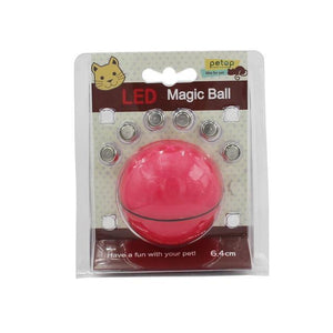 Yooap Creative Cat Toys Interactive Automatic rolling ball-Red